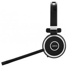 Evolve 65 MS mono, Monofonico, Nero, Padiglione auricolare, Wired / Bluetooth, Microsoft, USB