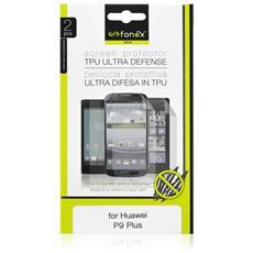Pellicola Protettiva Ultra Trasparente in TPU per Huawei P9 Plus (2Pz)