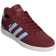 cdebab5d08c0 ADIDAS - Scarpa Adidas Busenitz Collegiate Burgundy Clear Blu Footwear  Bianco (eu 42 / Us 8.5, Rosso)