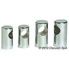 Centrale corrimano mm 30 ottone cromato