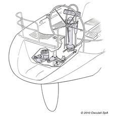 Attuatore Lewmar Integra 12V per autopilota