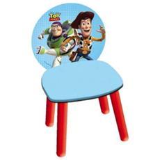 Sedia In Legno Toy Story Woody Azzurro Cameretta