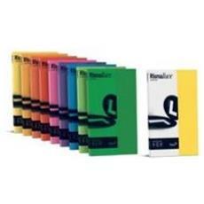 conf. 50 Carta colorata 200g Rismaluce arancio A69E544