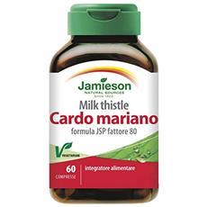 Cardo mariano milk thistle 60 capsule depurativo