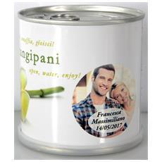 Bomboniere Matrimonio Naturali Personalizzate Frangipani Fiori In Lattina Macflowers