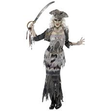 Costume Da Pirata Zombie Per Donna Small