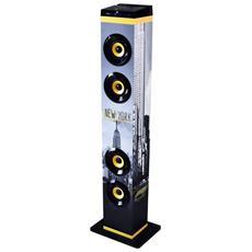 Sistema Audio Multimediale Bluetooth®Diffusore A Torre Con Bass Reflex NYYE