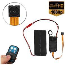 Mini Micro Telecamera S01 1080p Ip Nascosta Cam Spia Spy Cmos Spycam Spia Full Hd Modulo Detection Con Telecomando Controller