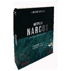 Narcos - Stagione 01-02 (CE Limitata E Numerata) (6 Blu-Ray+Gadget) - Disponibile dal 05/09/2018