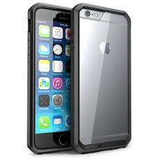 Cover Iphone 6, Supcase Apple Cover Iphone 6 4.7 Pollici [ serie Unicorn Beetle] Custodia Bumper Premium Super Protezione Per Iphone 6 (trasparente / nero / nero)