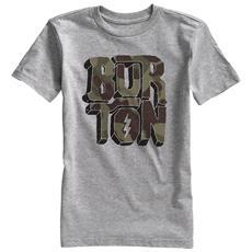 T-shirt Bambino Rock And Roll S Grigio