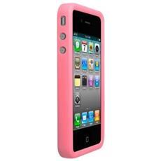 Case In Silicone Rosa Per Iphone 4