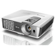BENQ - Proiettore W1070 DLP Full HD 2000 ANSI lm contrasto 10.000:1 porta USB 2 ingressi HDMI 3D Ready