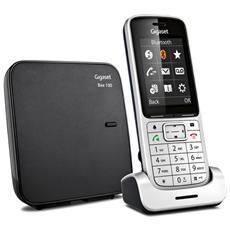 """SL450 Cordless Display Grafico da 2.4"""" a Colori Bluetooth Micro Usb Vivavoce - Argento"""
