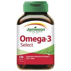 Omega 3 select - 150 perle integratore di omega 3, olio di pesce
