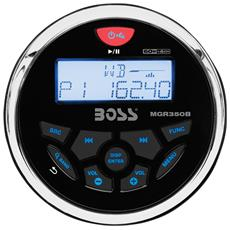 Stereo Da Cruscotto Boss Audio Marine Mgr350b - 60 Watts X 4 - No Cd / Dvd