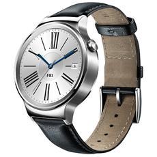 "Smartwatch Watch Classic Display Touchscreen 1.4"" AMOLED 4GB 42mm Bluetooth Cinturino in Pelle Nero per Android / iOS RICONDIZIONATO"