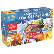 56293 - Piccolo Genio I Miei Primi 100 Esperimenti