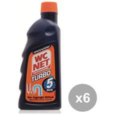 Set 6 Professional Turbo 500 Ml. Attrezzi Pulizie