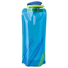 Bottiglia Pieghevole Unica Azzurro
