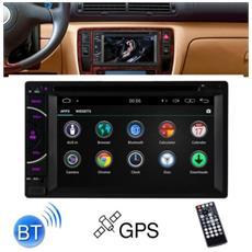 "Autoradio 7.0"" 2 Din Stereo Car Dvd / Usb / Sd Gps Nav Bluetooth Android 8 Dual"