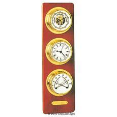 Tavoletta Barigo baro / termo / igrometro e orologio