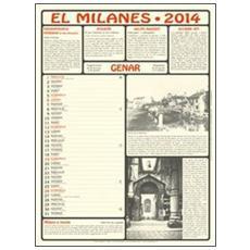 Milanes. Calendario 2014. Con libro (El)