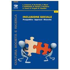 Inclusione sociale. Prospettive-approcci-ricerche