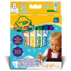 Colora Mini Kids 8 Pennarelli Lavabili 8324