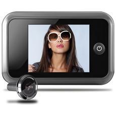 Spioncino digitale per porta con telecamera con display lcd da 3,5