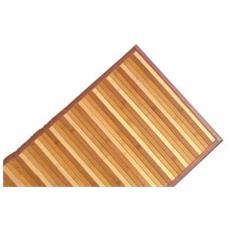 Tappeto In Bamboo Giallo 50x120