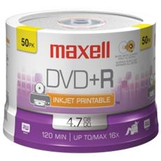 Campana 50 Dvd+r 16x Printable F