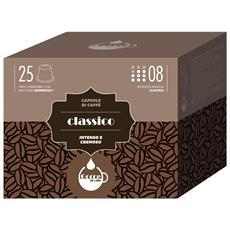GOCCE DI CAFFE - Aroma CLASSICO - 25 Capsule Compatibili Con Tutte...