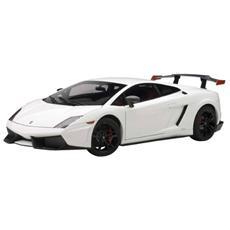 Aa74693 Lamborghini Gallardo Lp570 Supertrofeo 2011 White 1:18 Modellino
