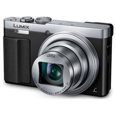 Lumix TZ70 Argento Sensore MOS Zoom Ottico 30x Display 3'' Filmati Full HD Stabilizzato Wi-Fi / NFC