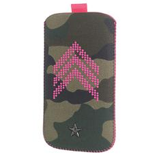 Sy Camo Fluo Vertical Case Xxl Pink