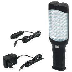 PRPL48LED / B Portalampade Portatile 48 LED