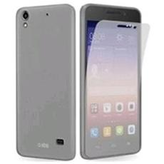 Cover Aero In Tpu Trasparente Huawei G620s + Screen