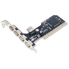 ICC IO-USB4-NEC - Scheda PCI 4 Porte USB Esterne + 1 Interna Chip NEC