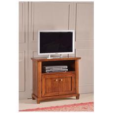Porta Tv In Legno Colore Noce Scuro