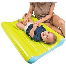 Fasciatoio Gonfiabile Baby Da Viaggio Spiaggia 11 Kg Max Per Bambini Con Pompa