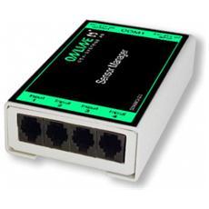SENSMCS121, Seriale, RS-232, Nero, Bianco, DC, 0 - 65 °C, Cablato