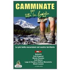 Camminate per tutta la famiglia. Vol. 1: Dolomiti, Colli Euganei, Monte Pasubio, Colli Berici, Lago di Garda e Colline Moreniche, Monti Lessini. . . .