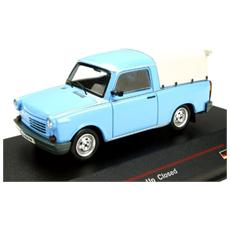 Ist179a Trabant 1.1 Pick Up Closed 1990 Light Blue 1:43 Modellino