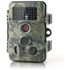 Telecamera Infrarossi Fototrappola Con Triplo Pir Lkm Securityâ® Con Risoluzione A 12 Megapixel