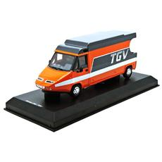 Nvpm0099 Camion Tgv 1983 Orange / gris 1:43 Modellino