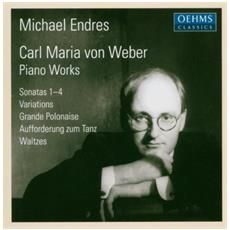 Michael Endres - Von Weber- Piano Works (2 Cd)