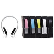 Nebula, Stereofonico, Padiglione auricolare, Blu, Bluetooth, Circumaurale, Metallo, Poliuretano