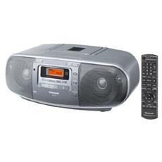 Radioregistratore Digitale Portatile AM / FM con Lettore CD e Display LCD