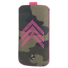 Sy Camo Fluo Vertical Case Xl Pink